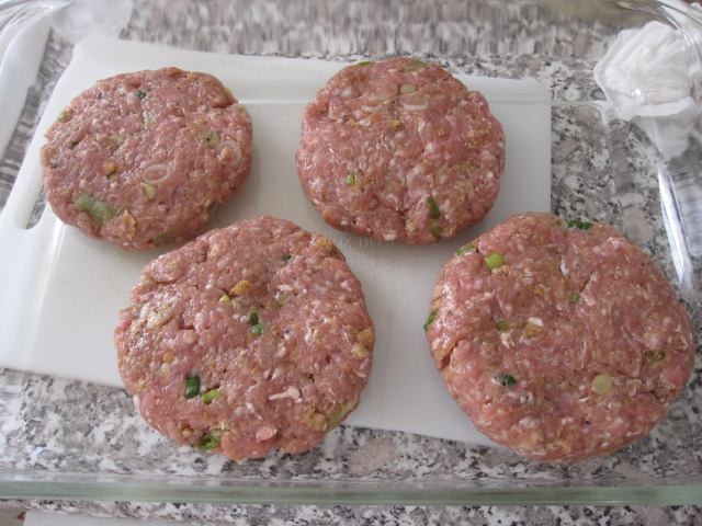 Gingered Pork Burger Recipe — Dishmaps